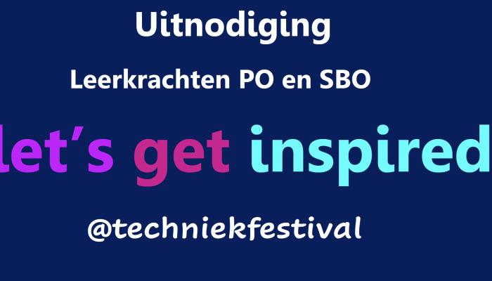 Uitnodiging Techniekfestival